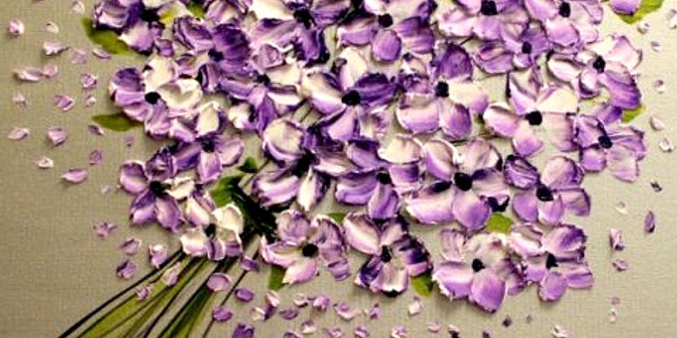 Обьемные цветы |  26 мая суббота | 2000