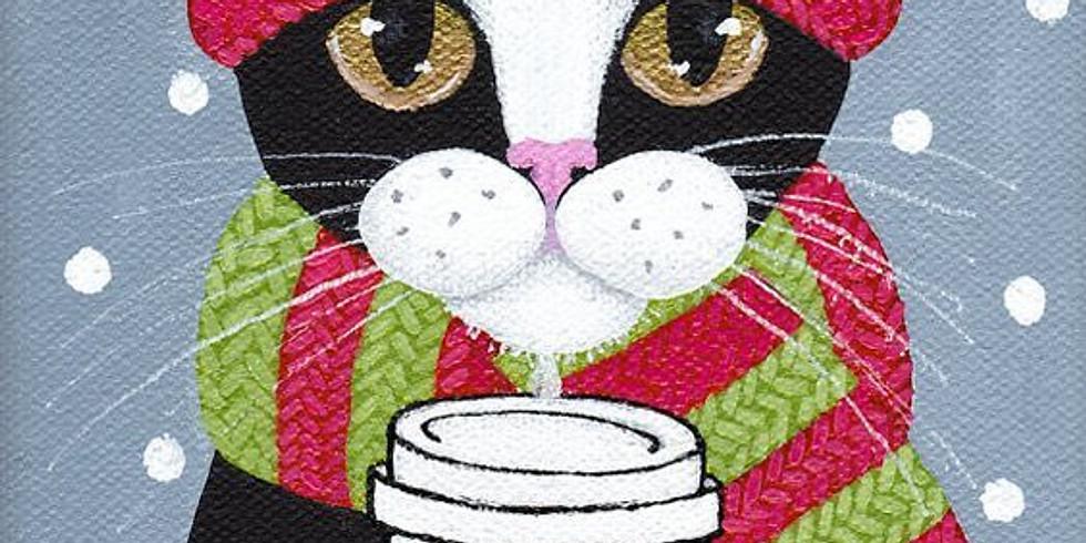 Зимний кот | 17 января четверг | 1990 руб