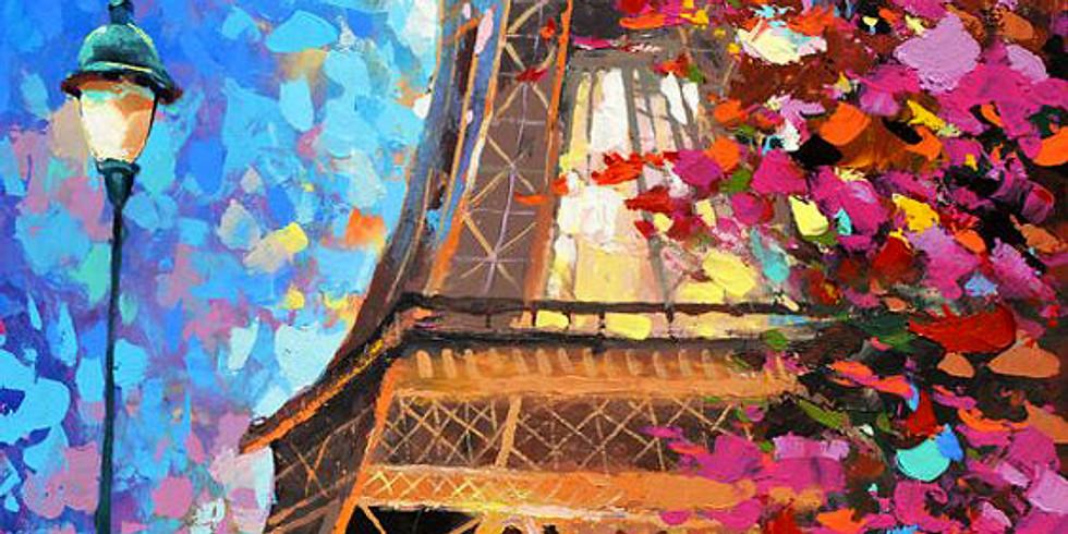 """Хочу в Париж!"" в арт-кафе Стакан"