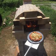 陶芸窯ではなくピザ窯