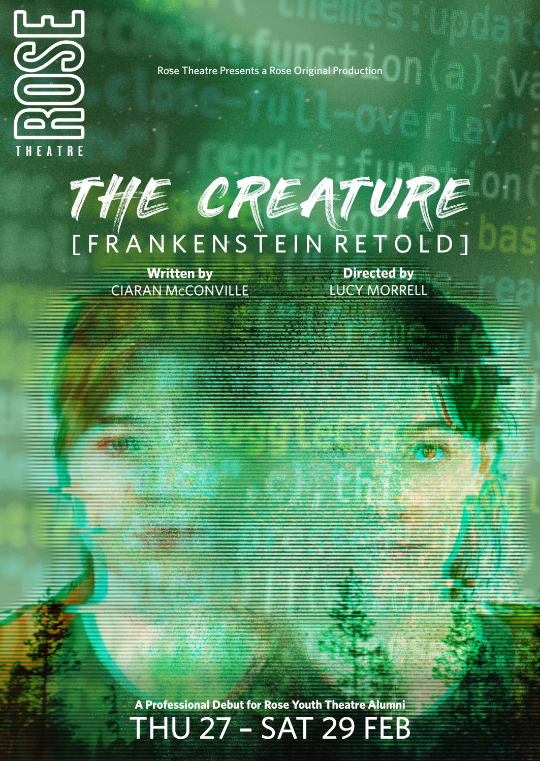 The Creature: Frankenstein Retold