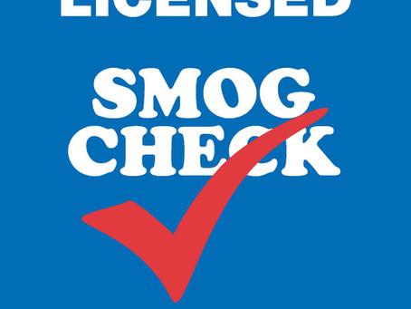 Smog Check Basics