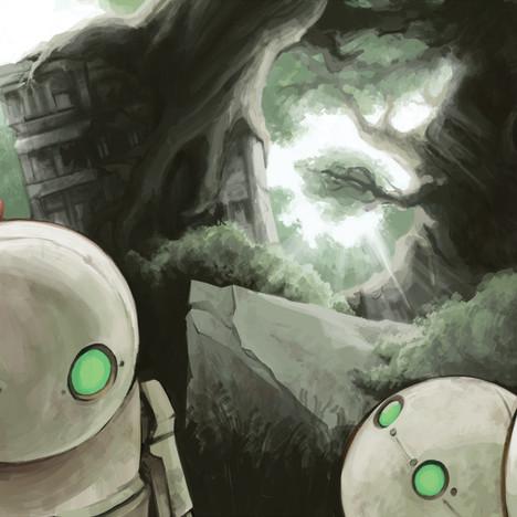 Nier: Automata fanart commission