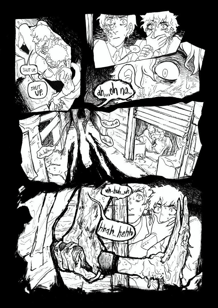 One-page comic based on an original fantasy horror universe.