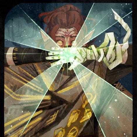 Dragon Age: Inquisition tarot design
