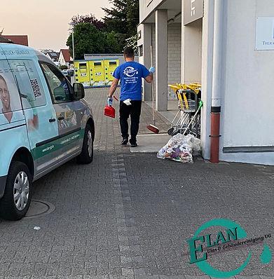 Elan Glas- & Gebäudereinigung Parkplatzreinigung Bensheim Heppenheim Lorsch