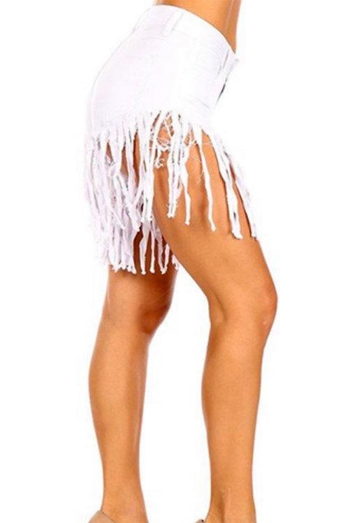 Fringe me Shorts