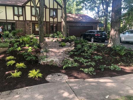 Shade Perennial Garden 2