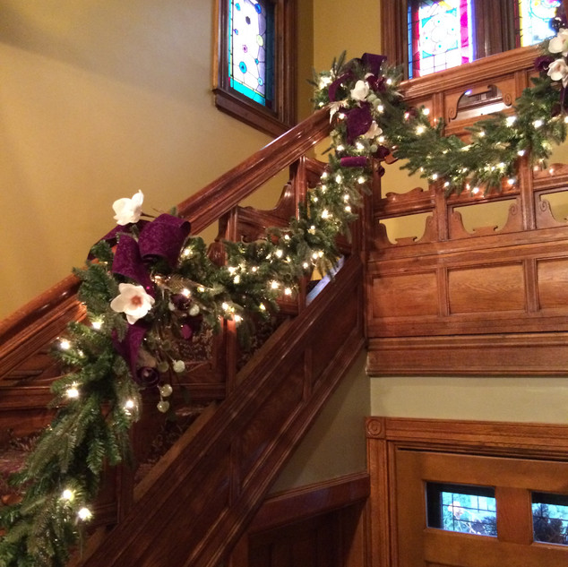 Interior Staircase Decorations