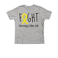 Strong Like AK Youth Tee.jfif