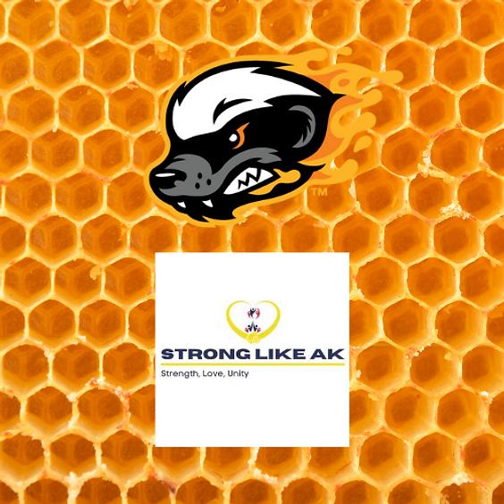 Strong Like AK Strike Out Pediatric Cancer Baseball Game