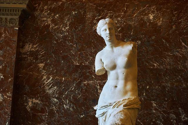 La Vénus de Milo - au Louvre
