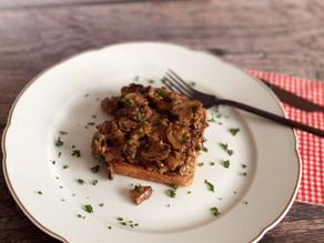 Pilz-Toast: einfaches und schnelles Herbst-Menu