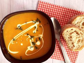 Kürbis-Süsskartoffel Suppe