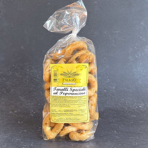 Taralli Speciali al Peperoncino 400g