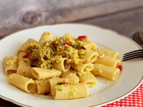 Pasta mit Zucchini-Pesto