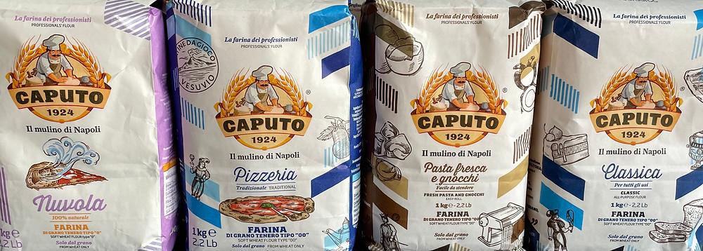 Weichweizenmehl aus der neapolitanischen Mühle Caputo