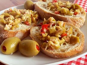 Oliven Crostini - warm servieren: mmmh!