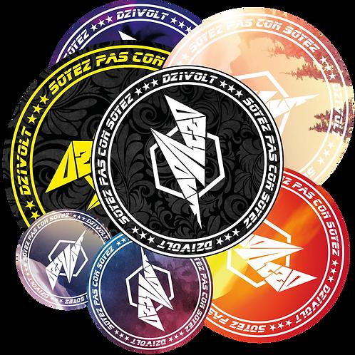 Stickers vinyle *5