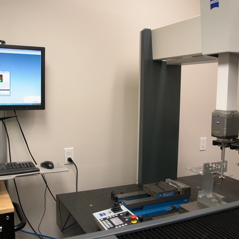 Progressive Machining Inc dedicated CMM QC.  Waterloo, Ontario.
