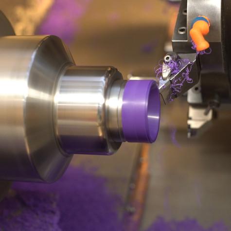 CNC turning for steel, aluminium, stainless steel, Delrin, non-ferrous,