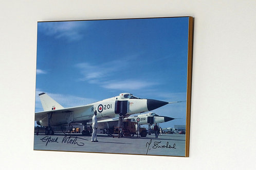 Avro Arrows lined up (Plaque)