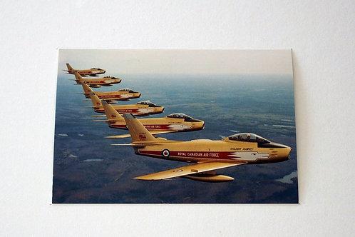 Golden Hawks (25 postcards)