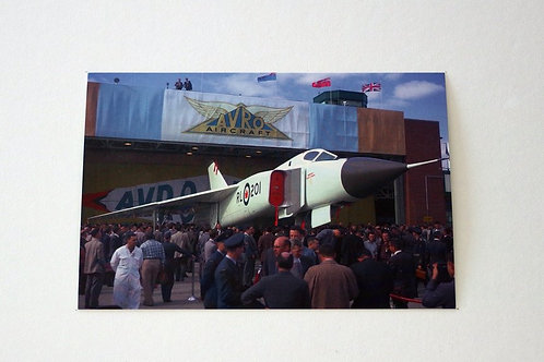 Avro Arrow RollOut front (25 postcards)