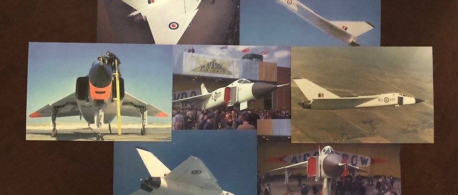 Avro Arrow Postcard Collection