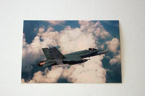 F-18 Hornet (25 postcards)