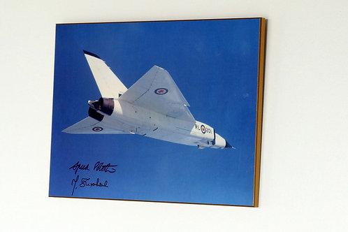 Avro Arrow First Flight RL-201 (Plaque)