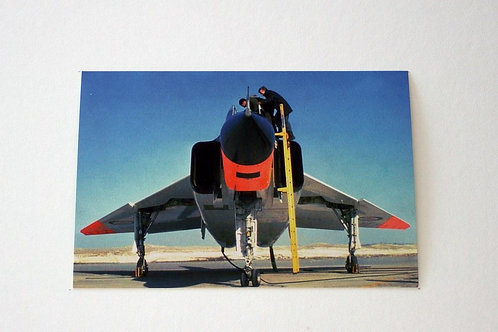 Avro Arrow Front (25 postcards)