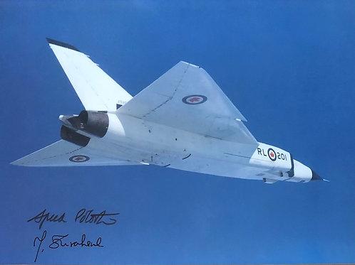 Avro Arrow First Flight RL-201