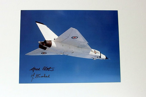 Avro Arrow First Flight (mini Poster)