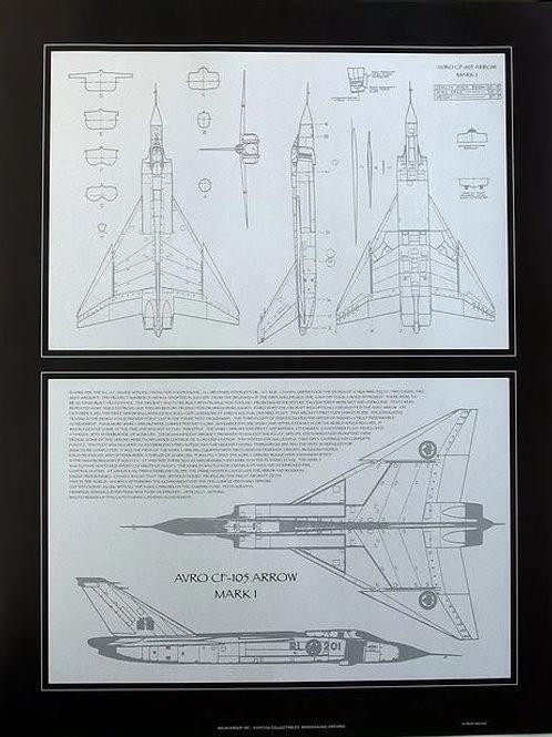 Avro Arrow Plan Diagram