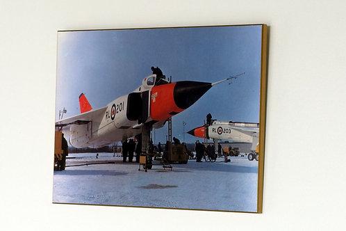 Avro Arrows on Ramp RL-201/RL-203 (Plaque)