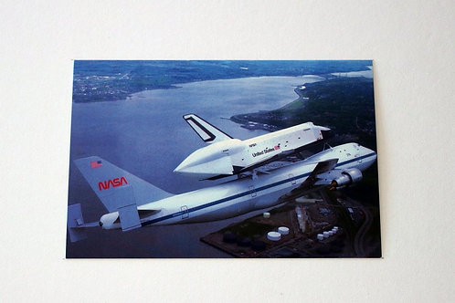 NASA's Boing 747 Space Shuttle (25 postcards)