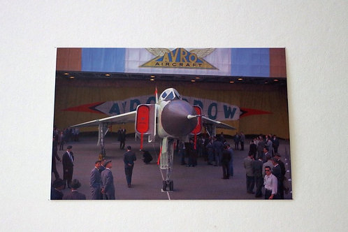 Avro Arrow Official RollOut (25 postcards)