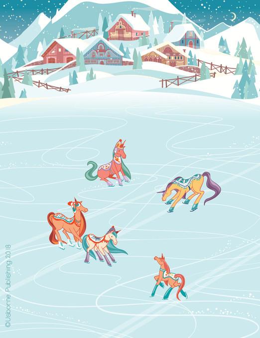 Camilla Garofano_rubdown unicorn_skating
