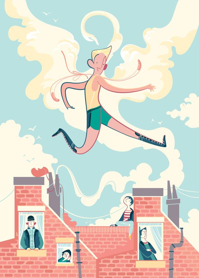 """Billy Elliot for """"101 film per ragazze e ragazzi eccezionali"""", Newton Compton editore"""