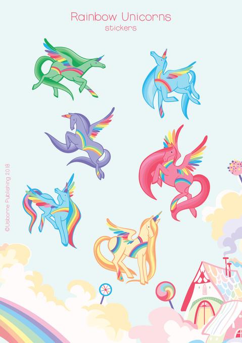rainbow presentazioni web personaggi sin