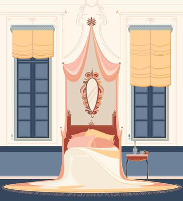 La Traviata di Giuseppe Verdi Violetta's bedroom