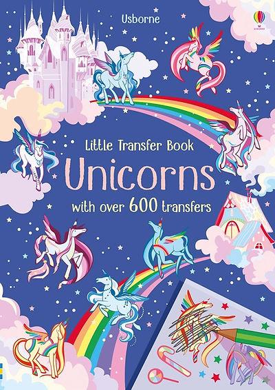 Cover for a rubdown unicorn book