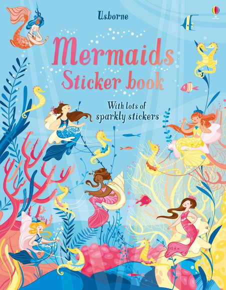 Mermaids Stickers book