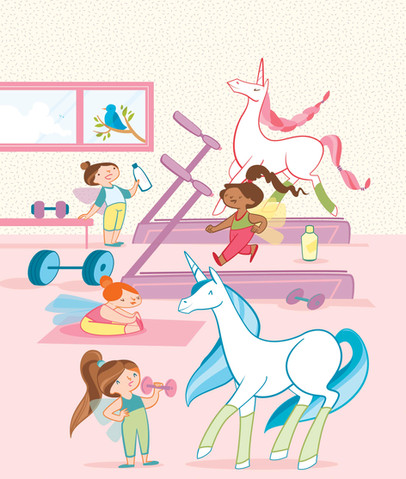 Unicorn activity book, Arcturus publishing