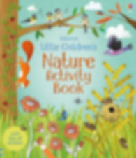 Cover for a children book about Nature