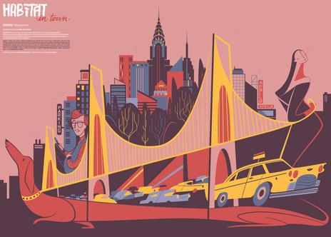 Manhattan for HABITAT