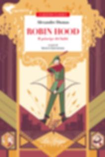 Cover for a children book based on Alexandre Dumas Robin Hood