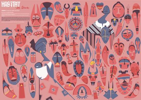 Masks market for HABITAT