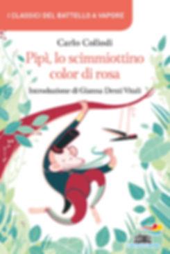 Cover fr Pipì lo scimmiottino color di rosa by Carlo Collodi